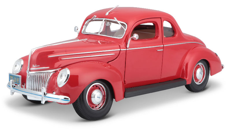 Maisto 1:18 Scale Ford Deluxe 1939 Vintage Classic Coupe Die-Cast Scale Model Car