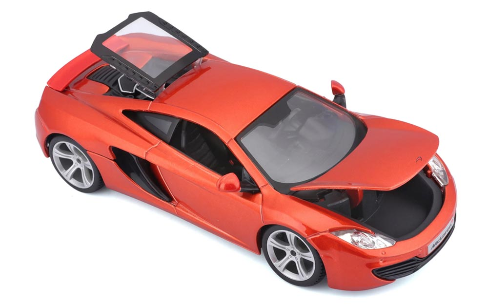 Bburago 1:24 Scale Mclaren 12C Die-Cast Scale Model Replica Miniature Collectible Toy Car Sports Car