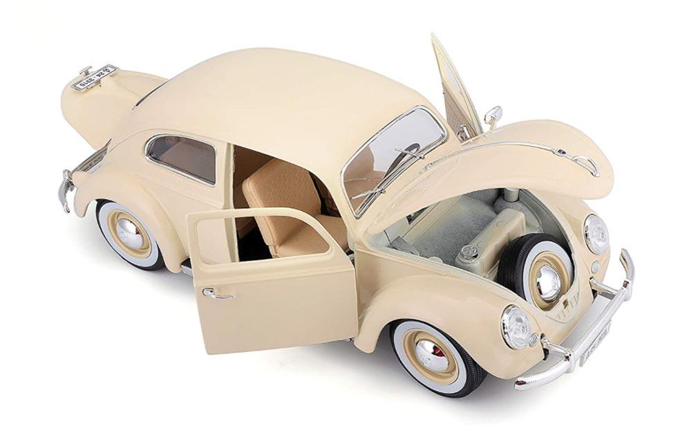 Bburago 1:18 Scale Volkswagen Kafer Beetle Vintage Die-Cast Model