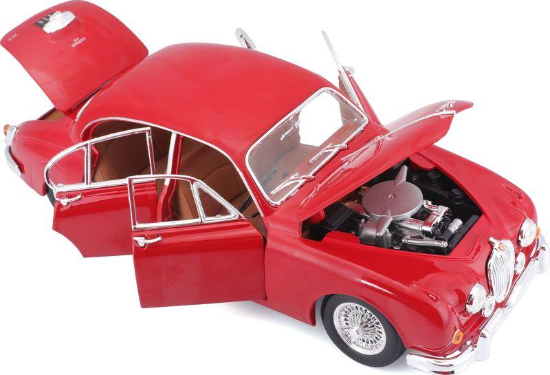 Bburago 1:18 Scale Jaguar Mark2 Die-cast scale model vintage car Replica Miniature Collectible
