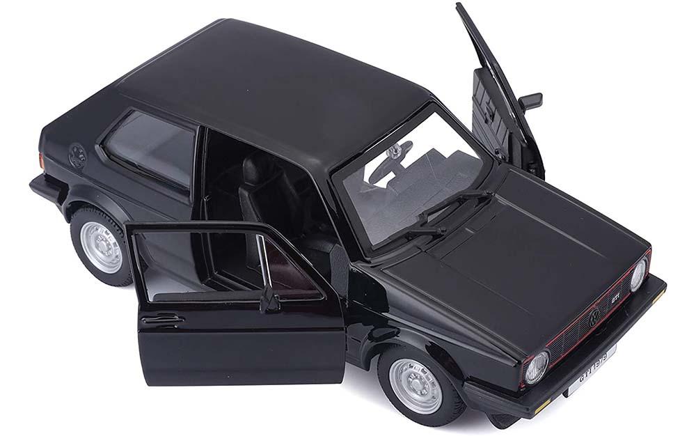 Bburago 1:24 Scale Volkswagen Golf MK1 GTI 1979 Replica Miniature Collectible Toy Car Vintage Classic Models