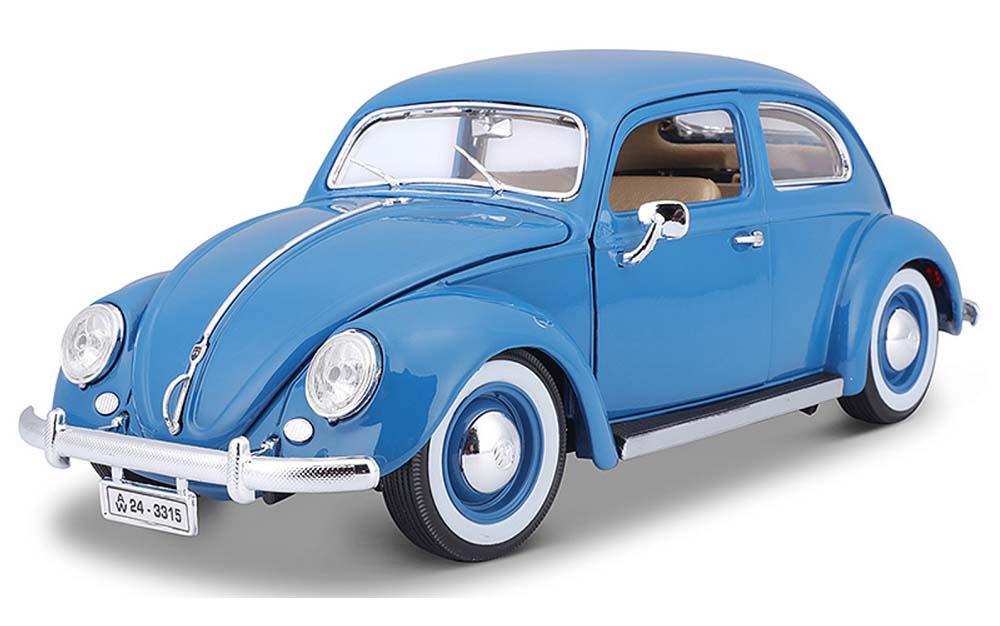 Bburago 1:18 Scale Volkswagen Kafer Beetle Vintage Scale Model Die-Cast Car