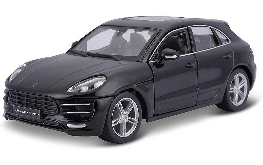 Bburago 1:24 Scale Porsche Macan SUV Die-Cast Miniature Replica Collectible Model Toy Car Static Simulation Model